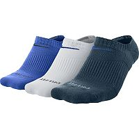 Men's Nike 3-pack Dri-FIT Half-Cushioned No-Show Socks