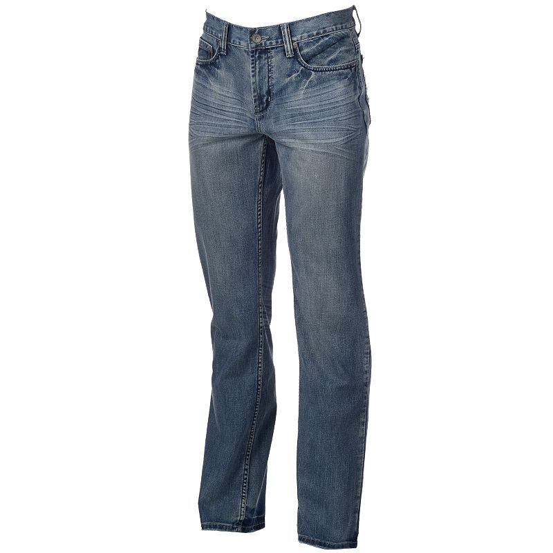 Men's Helix™ Straight-Leg Light Wash Jeans