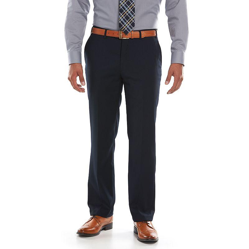 Men's Lazetti Slim-Fit Navy Suit Pants