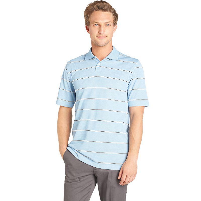 Men's Arrow Wide-Striped Polo
