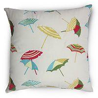 Home Fashions International O'Shady Beach Indoor Outdoor Throw Pillow