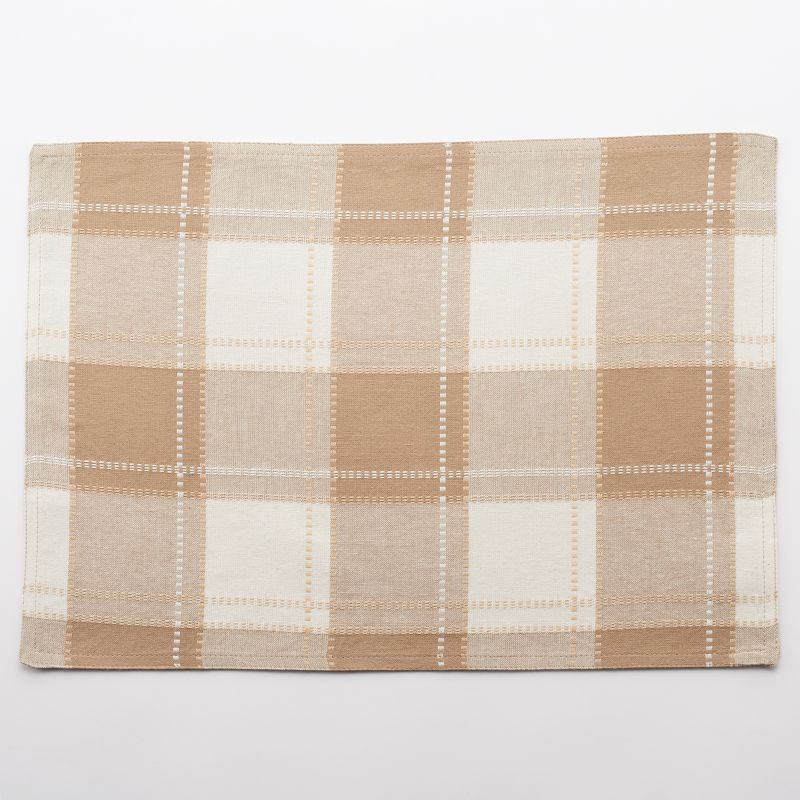 Food Network Cascina Plaid Placemat
