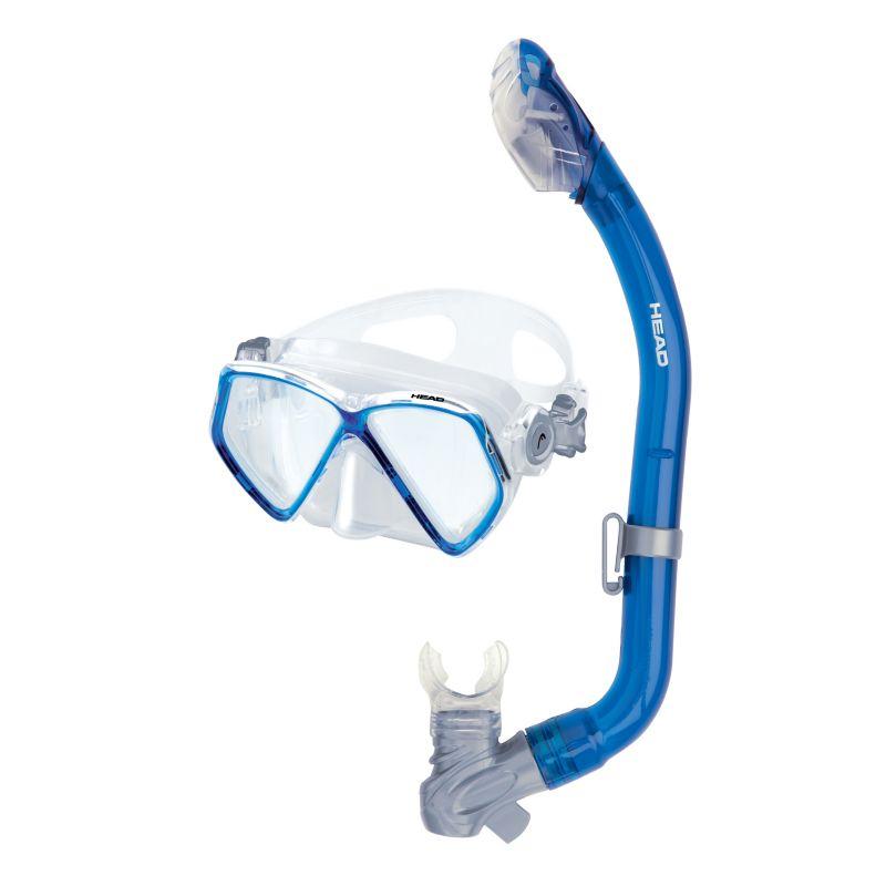 Head 2-pc. Pirate Dry Junior Snorkel Set, Blue thumbnail