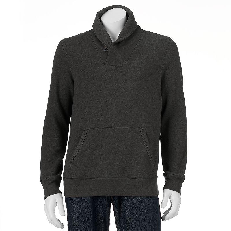 Men's SONOMA Goods for Life™ Fleece Shawl-Collar Pullover
