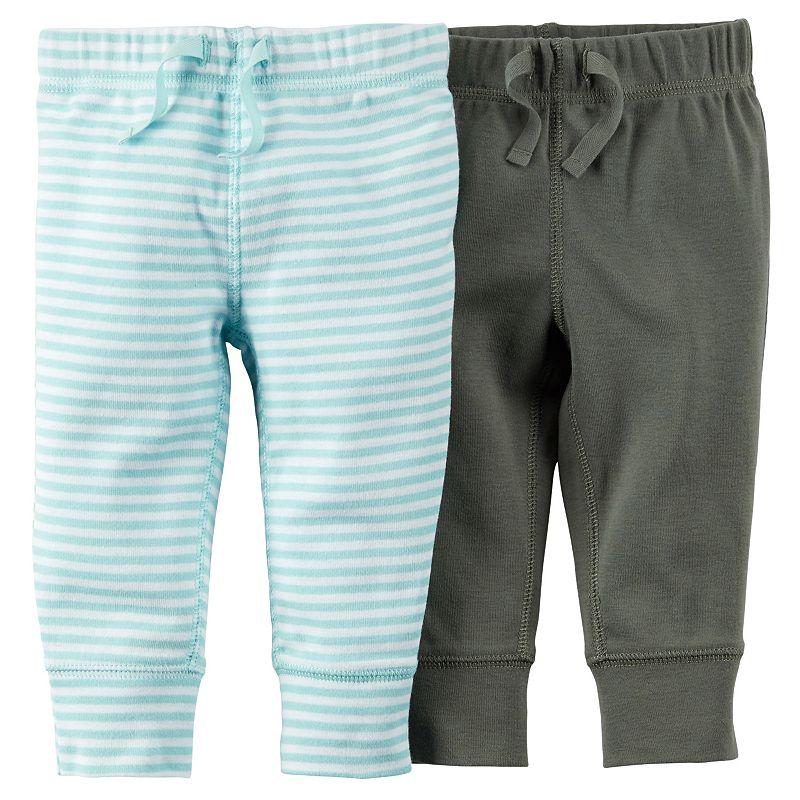 Carter's 2-pk. Stripe Pants - Baby Boy