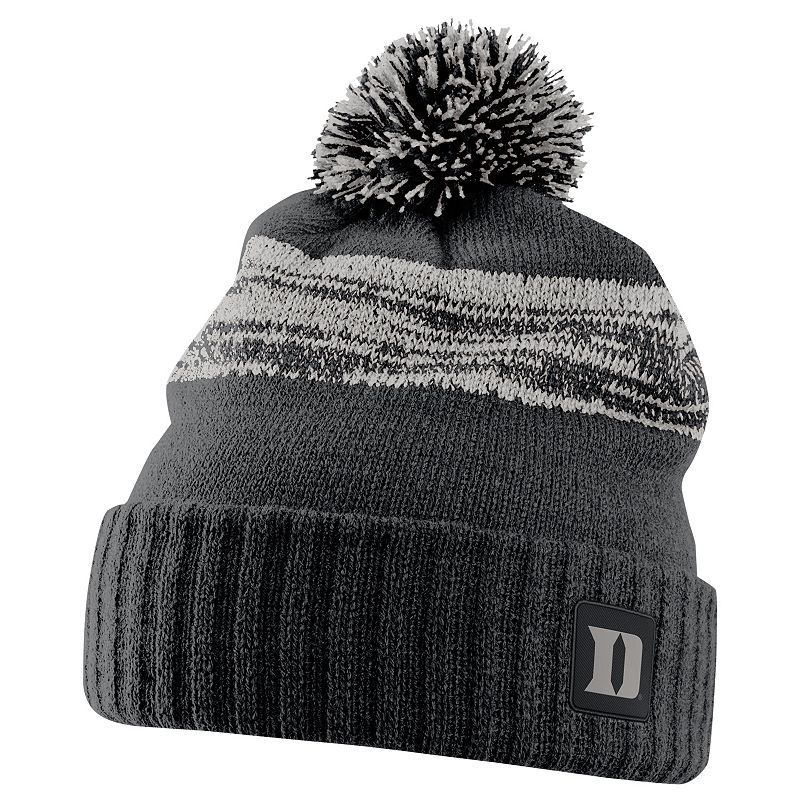 Adult Nike Duke Blue Devils Striped Knit Beanie