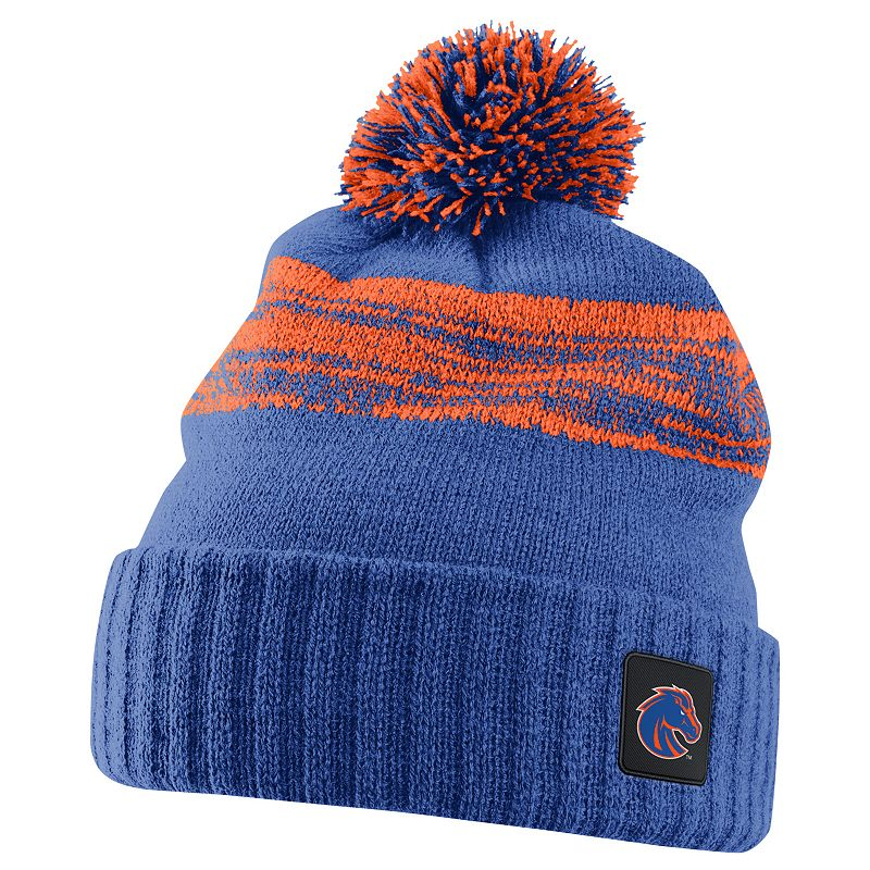 Nike Boise State Broncos Striped Knit Beanie - Adult