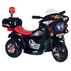 Lil' Rider SuperSport 3-Wheeled Motorcycle Ride-On by