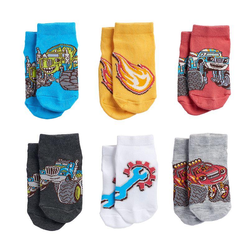 Blaze & The Monster Machines 6-pk. Crew Socks - Toddler Boy