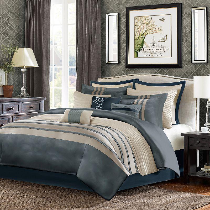 Madison Park Harlem 12-pc. Comforter & Coverlet Set