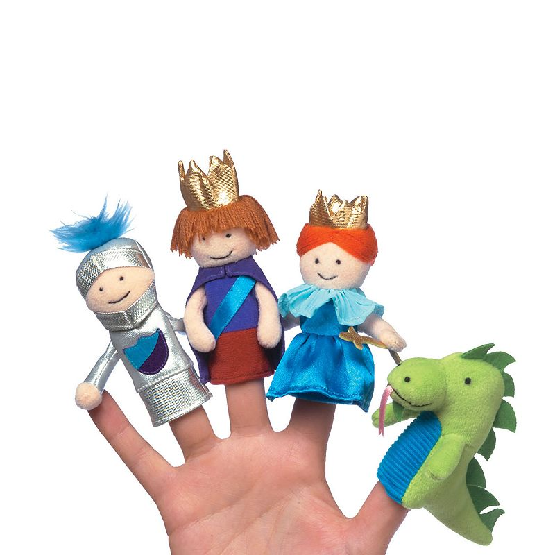 A Day at the Castle Boxed Finger Puppet Set by Manhattan Toy