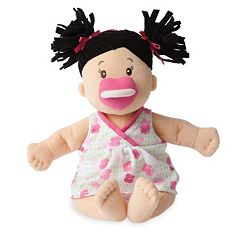 Baby Stella Brunette Baby Doll by Manhattan Toy by