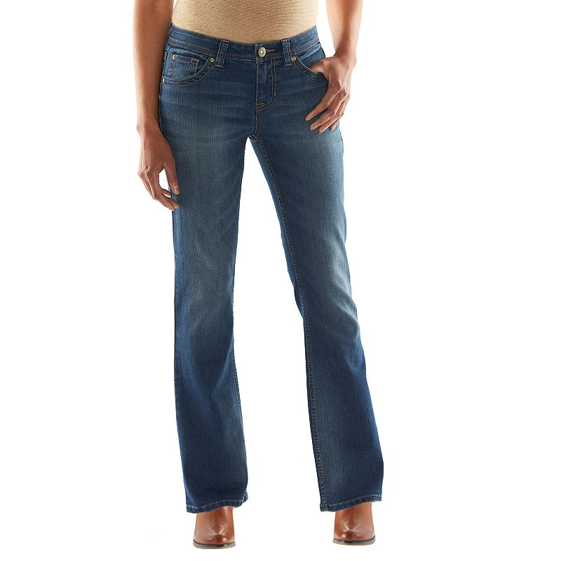 Apt. 9® Modern Fit Bootcut Jeans - Women's