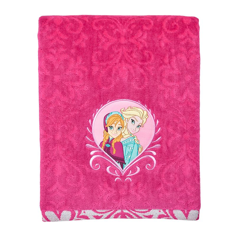 Disney's Frozen Sisters Bath Towel