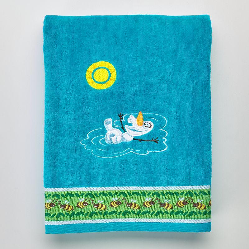 Disney's Frozen Olaf Bee Bath Towel