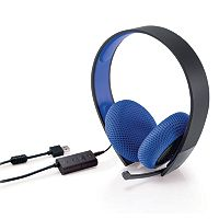 Sony Silver Wired Headset for PlayStation 4 & PlayStation 3