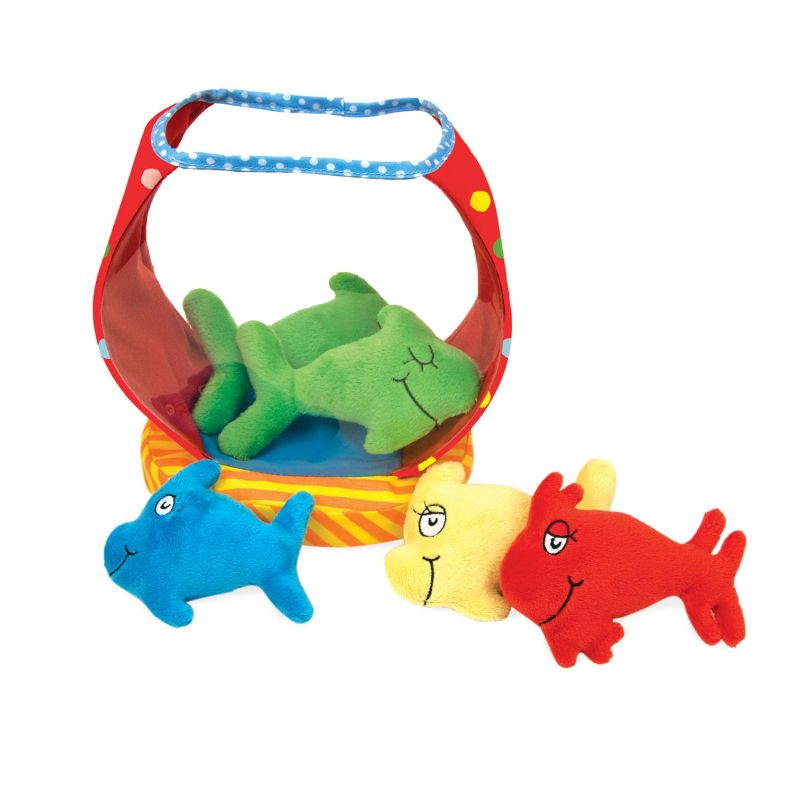 Dr. Seuss ''One Fish, Two Fish'' Fish Bowl by Manhattan Toy, Multicolor thumbnail