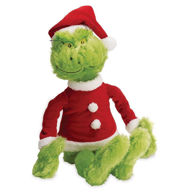 Dr. Seuss's The Grinch Plush by Manhattan Toy