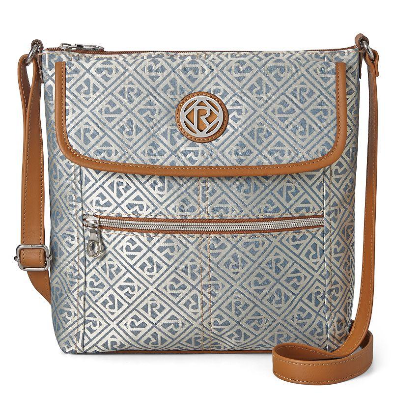 Relic Erica Flap Logo Crossbody Bag