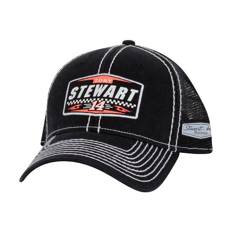 Adult Tony Stewart Vintage Patch Snapback Cap