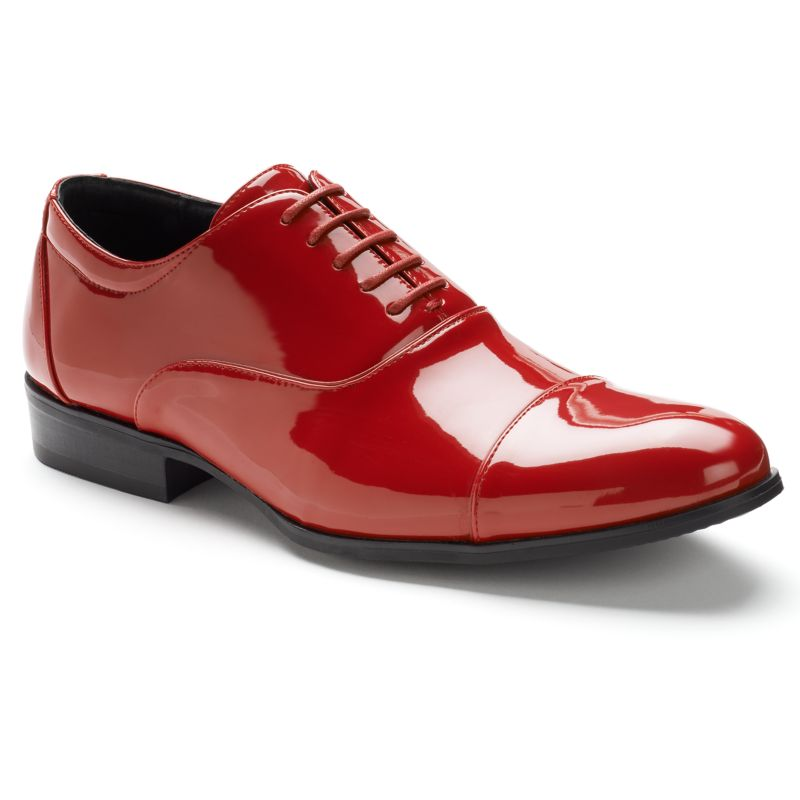 Stacy Adams Gala Men's Oxford Dress Shoes, Size: medium (7.5), Red thumbnail