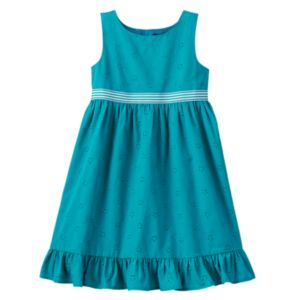 Toddler Girl Chaps Eyelet Dress