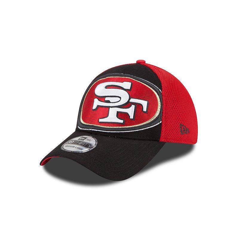 New Era San Francisco 49ers Logo Blimp Neo 39THIRTY Stretch-Fit Cap - Adult