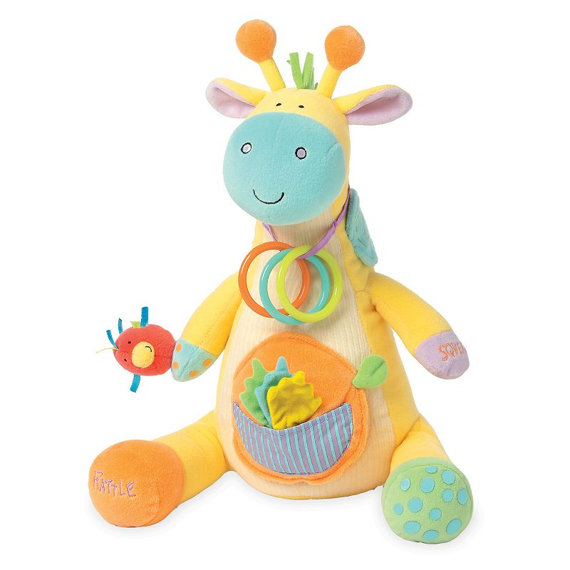 Manhattan Toy Peek-Squeak Giraffe