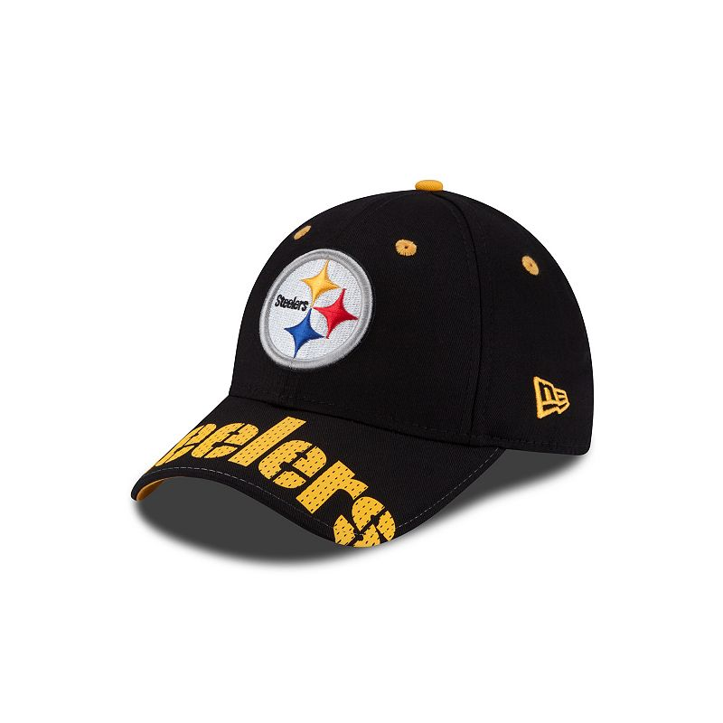 New Era Pittsburgh Steelers World Pin Classic 9FORTY Cap - Adult
