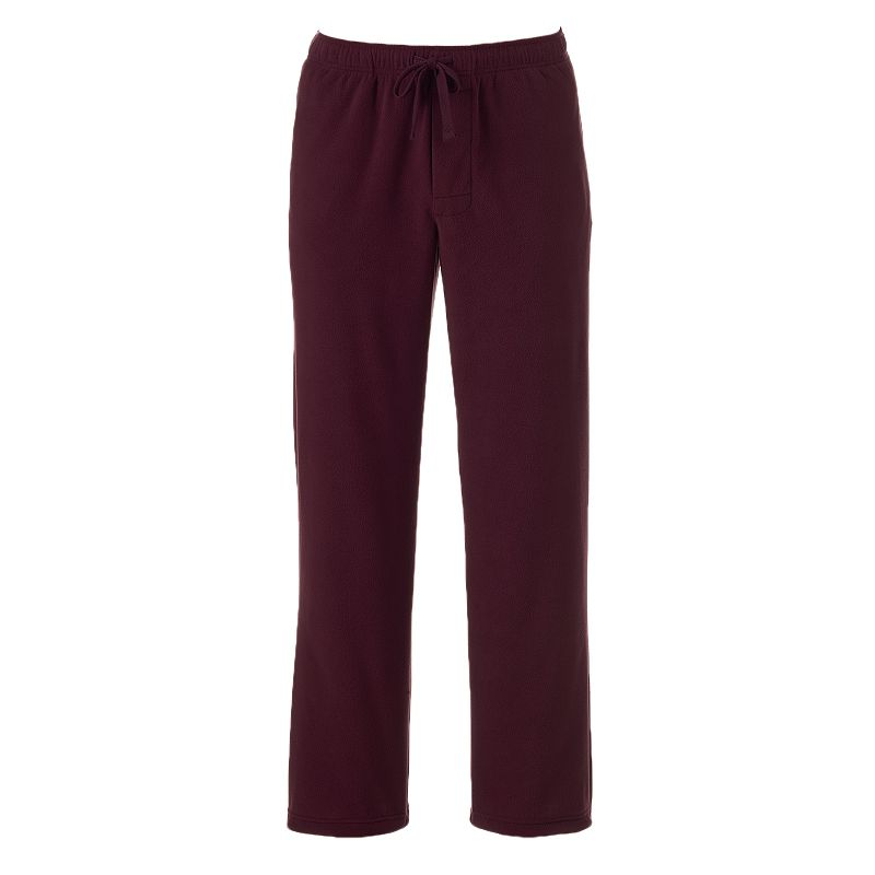 Men's Croft & Barrow Solid Fleece Lounge Pants