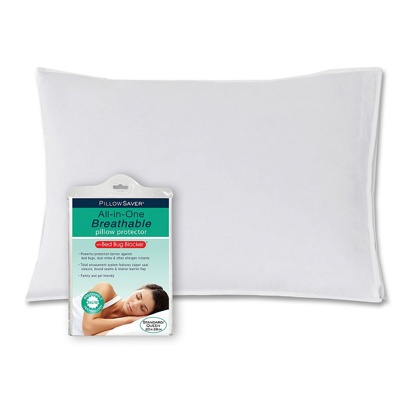 Pillow Guard All-in-One Breathable Bed Bug Blocker Pillow Protector