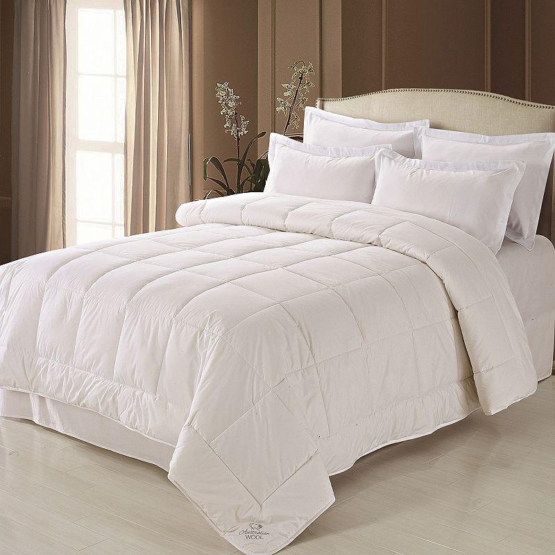 Mattress Guard Australian Wool Sateen Comforter