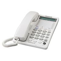 Panasonic Two Line 16-Digit Integrated Phone System with Clock