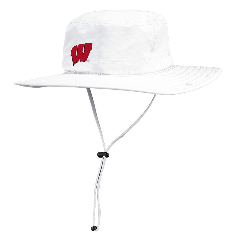 Adult adidas Wisconsin Badgers Safari Hat