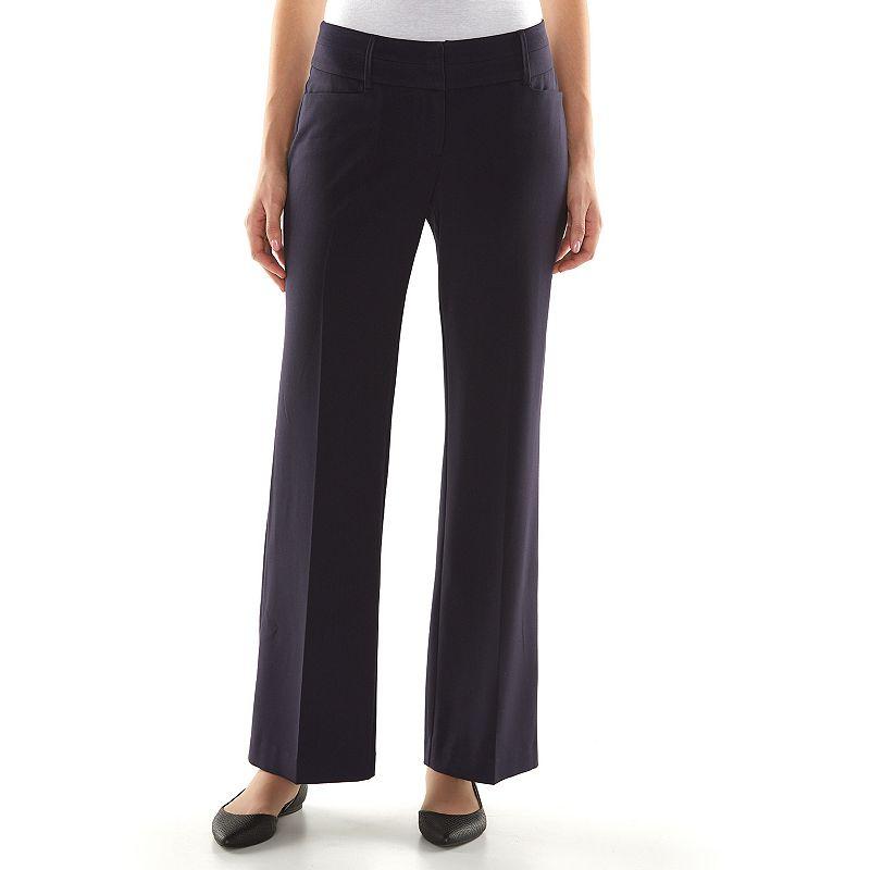 Women's Apt. 9® Torie Shaping Solution Curvy Fit Dress Pants