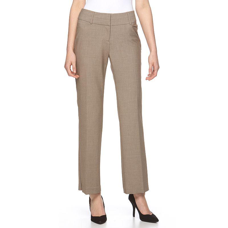 Women's Apt. 9® Shaping Solution Curvy Fit Dress Pants