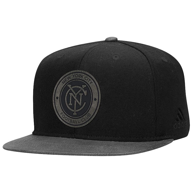 Adult adidas New York City FC Structured Adjustable Cap