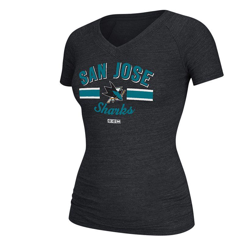 Women's CCM San Jose Sharks Deadstock Arch Tee