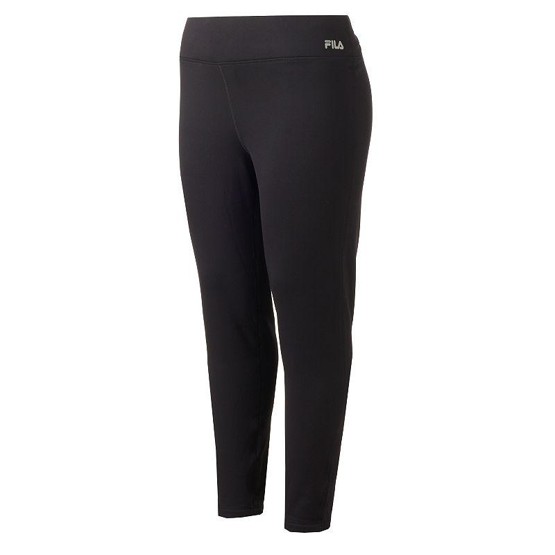 Plus Size FILA SPORT® Fleece-Lined Active Leggings