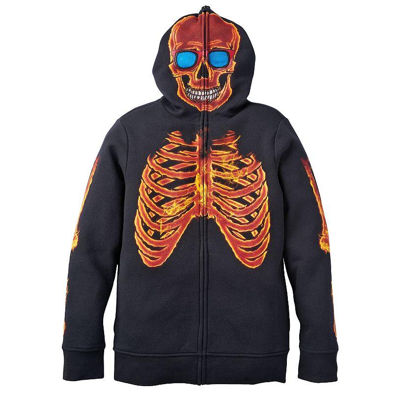 Boys 8-20 Tony Hawk® Novelty Inferno Zip-Up Sweatshirt