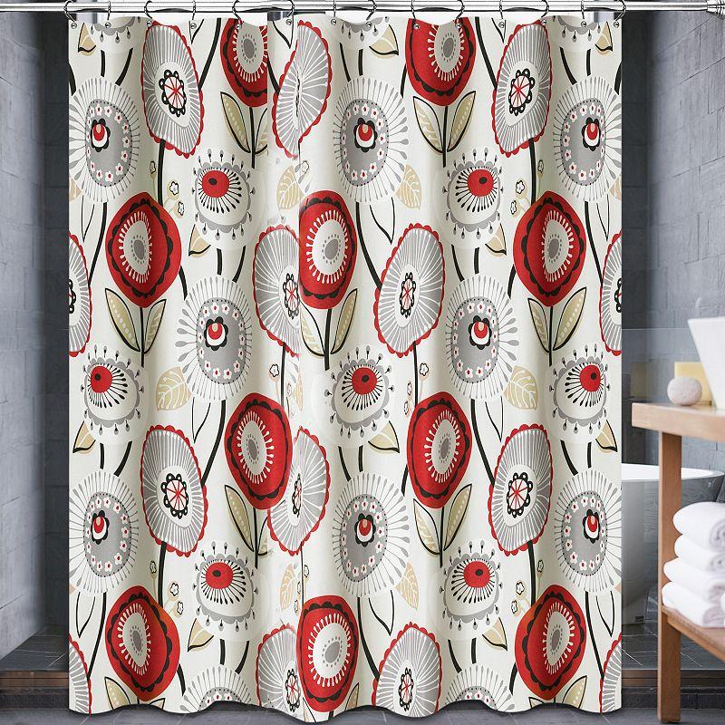 Popular Bath Seraphine Fabric Shower Curtain