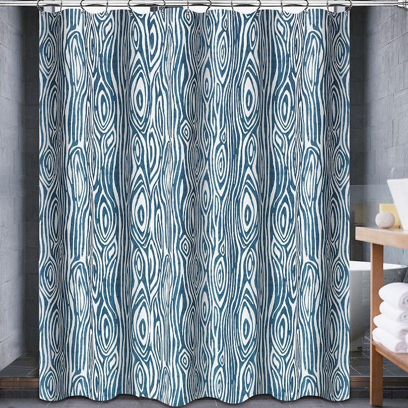 Popular Bath Willow Fabric Shower Curtain