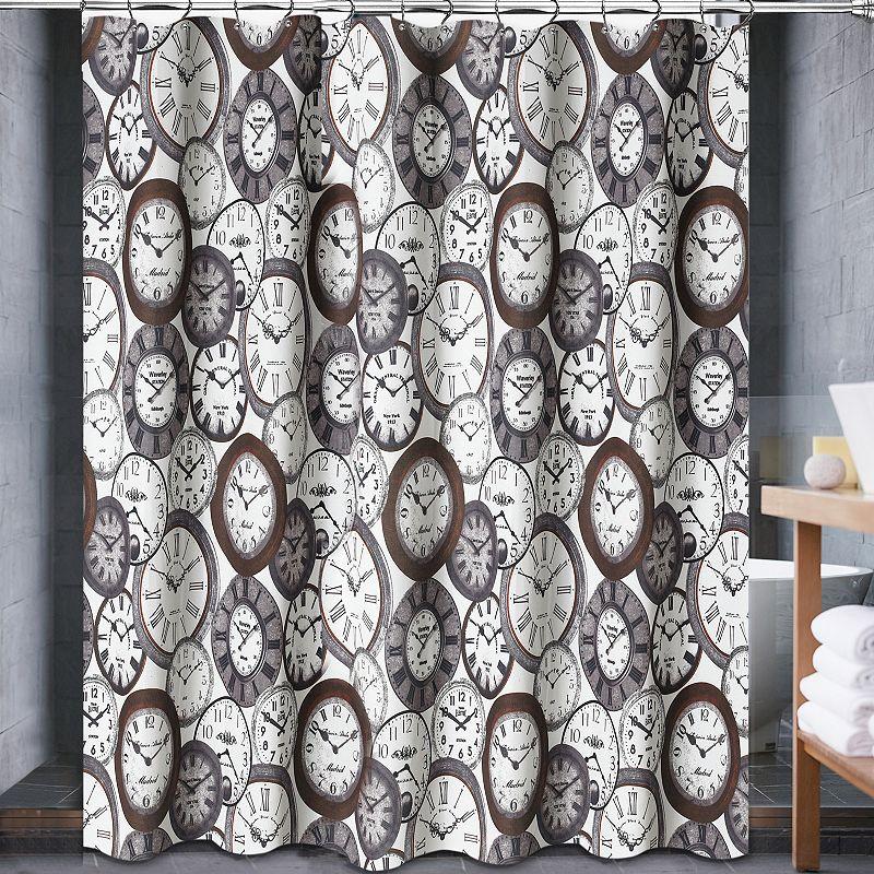 Popular Bath Valentina Fabric Shower Curtain
