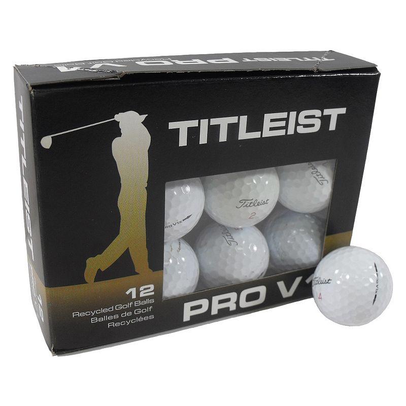 Nitro 12-pk. Recycled Titleist Pro V1X Golf Balls, Multi/None