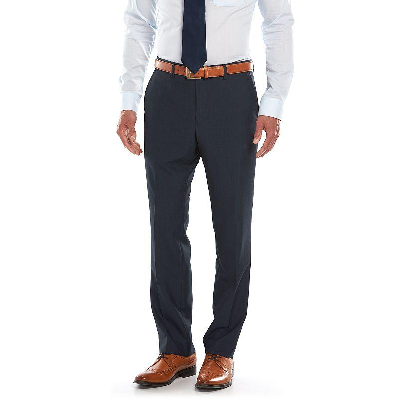 Men's Savile Row Modern-Fit Navy Suit Pants