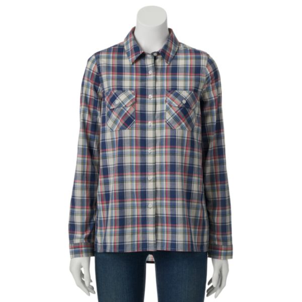 Levi's Plaid Shirt - Women's