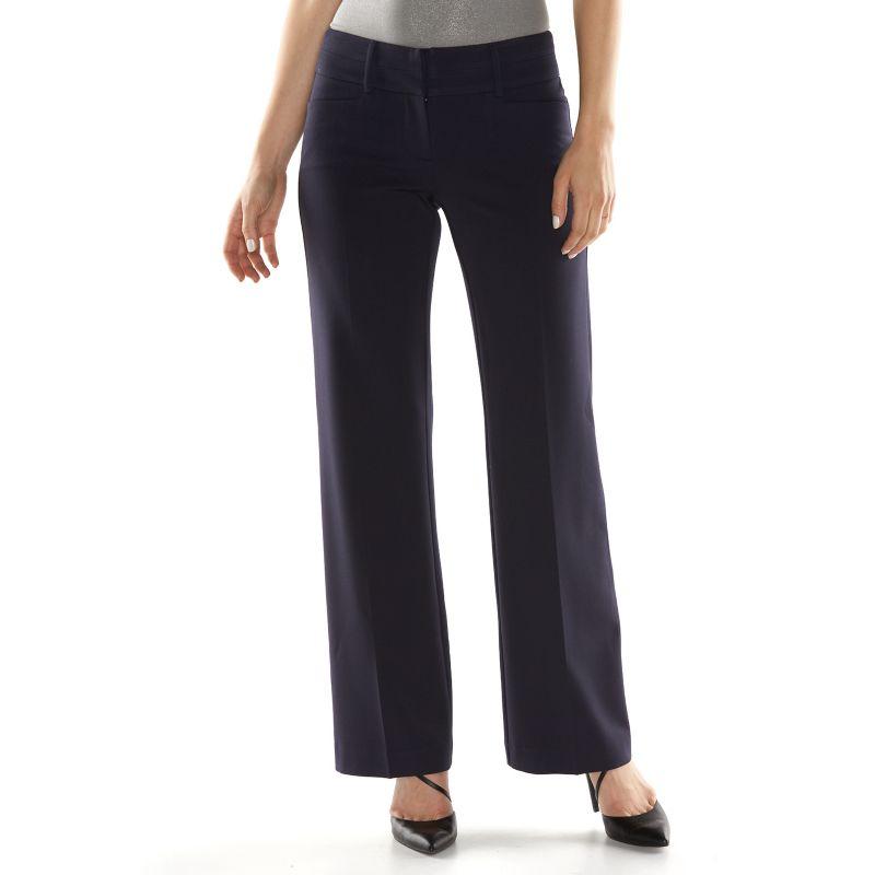 Women s apt 9 174 modern fit dress pants dealtrend