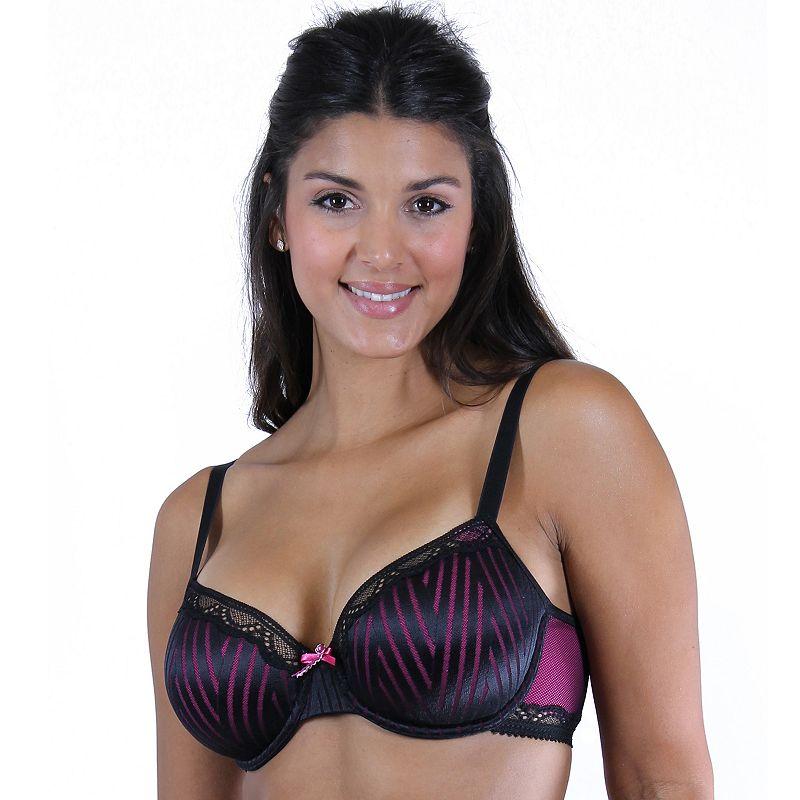 Lunaire Bra: Capri Lace-Trim Seamless Full-Figure Bra 29111 - Women's