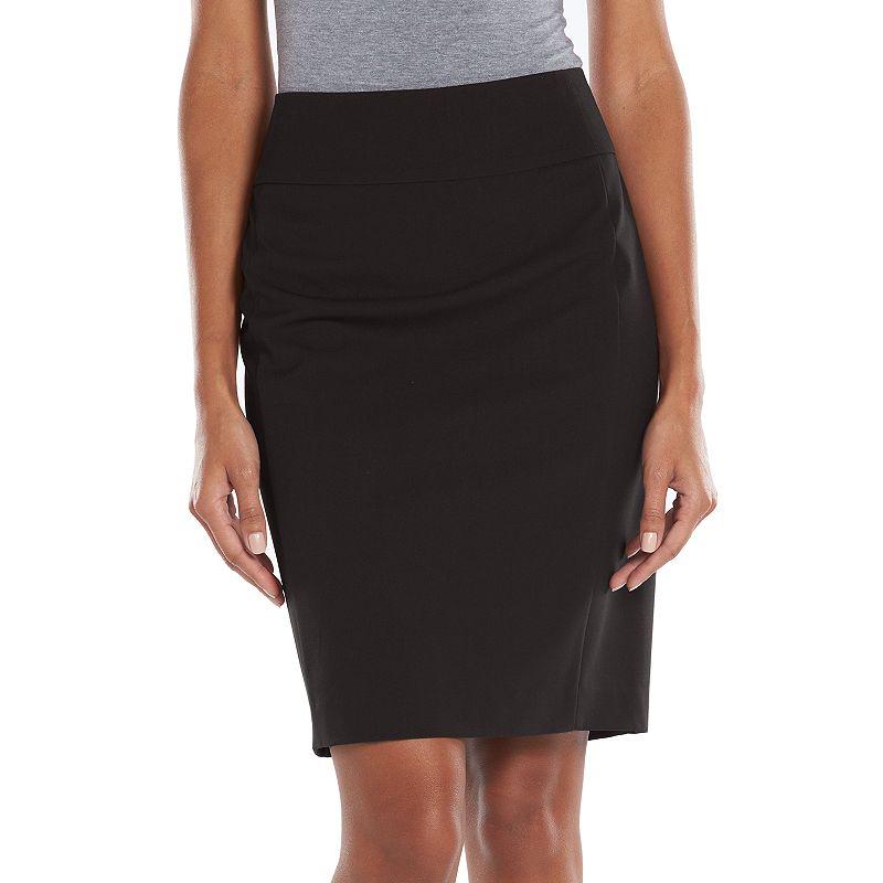 Apt. 9 Solid Pencil Skirt - Women's