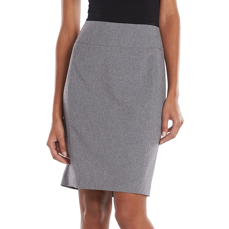 Apt. 9 Solid Pencil Skirt - Women's